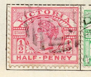 Victoria 1887-98 Early Issue Fine Used 1/2d. NW-11575