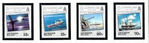 Ascension 351-54 MNH 1984 Lloyds List