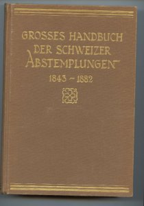 Switzerland 1931, Handbook of Swiss Cancellations, Hardcover, 625 pages