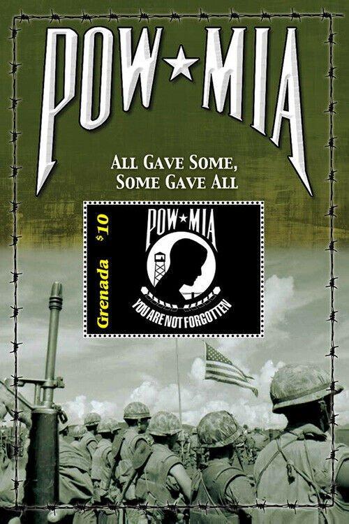 2020/11-GRENADA -VIETNAM WAR POW MIA        1V  complet set    MNH ** T