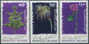 Norfolk Island 1997 SG653-655 Festivals set MNH