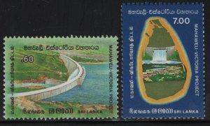 SRI LANKA, 747-748, MNH, 1985 Victoria project