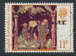 Great Britain  SG 1020  SC# 800  Christmas  Used see detail and scan