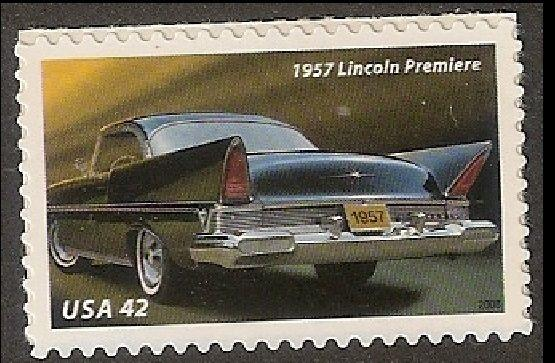 US 4356 50s Fins and Chrome Lincoln Premiere 42c single MNH 2008
