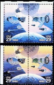 2634b, Mint NH Pair With Yellow Color Omitted Error ($2375) * Stuart Katz