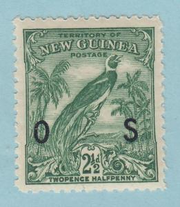 NEW GUINEA O26 OFFICIAL MINT NEVER HINGED OG NO FAULTS EXTRA FINE