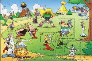 GERMANY BUND [2015] MiNr 3175-77 Block 80 ( O/used ) Asterix