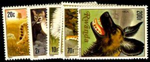 RWANDA 1035-42  Mint (ID # 55036)