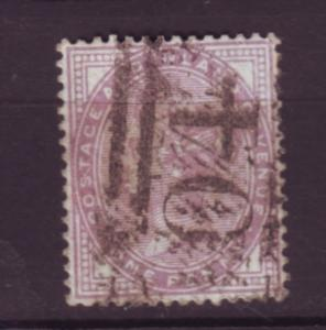 J19768 Jlstamps 1881 great britain used #88 queen 14 dots