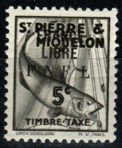 St Pierre & MIquelon  #J57 F-VF Unused  CV $52.50 (X9460)