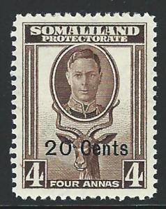 Somaliland Protectorate mh S.C.# 119