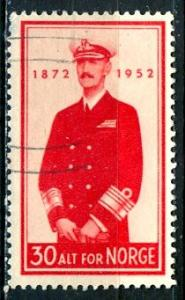 Norway; 1952: Sc. # 327: O/Used Single Stamp