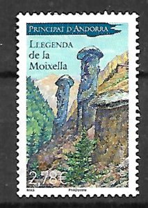ANDORRA STAMPS.LEGEND OF THE MOIXELLA, 2013, MNH