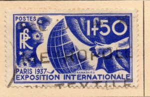 France 1936 Early Issue Fine Used 1.50F. NW-17988