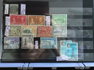 St Christopher and Nevis mounted mint  and  used   stamps   R27835