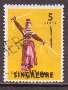 Singapore   #86  Used  (1968)  c.v. $0.75