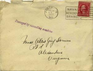 United States Washington Franklins 2c Washington Franklin 1922 Annapolis, Md....