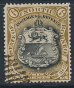 North Borneo  SG 101a Used  perf 15 x 14½  please see scan & details