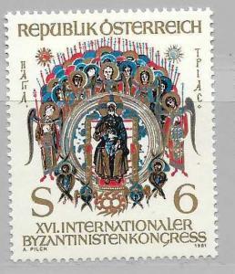 Austria 1190 1981 Byzantine single MNH