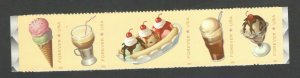 5093-7 Soda Fountain Favorites Strip Of 5 Mint/nh Free Shipping