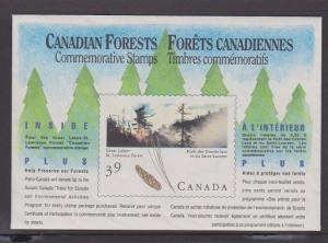 CANADA SOUV.MINIATURE PANE OF 4 STAMPS#1284a LOT#6