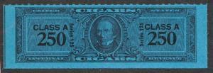 UNITED STATES MINT TC2605a CLASS A SERIES 125 (1955) 250 BLUE