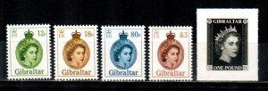 Gibraltar #1509-1513  MNH  Scott $15.70