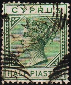 Cyprus. 1881 1/2pi S.G.31 Fine Used