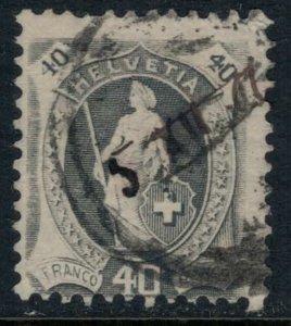 Switzerland #122  CV $57.50