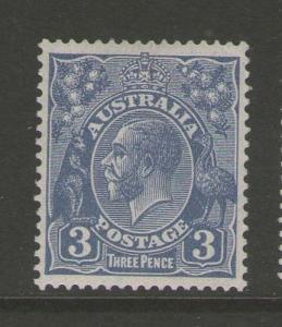 Australia 1926 KGV SG 100b dieII MH #c390