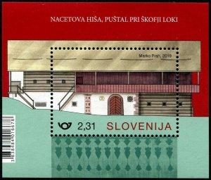 HERRICKSTAMP NEW ISSUES SLOVENIA Rural Homes 2019 S/S