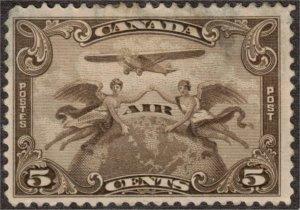 CANADA - 5c Air Mail SC C1 Mint 1928