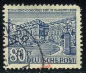 Germany-Berlin #9N55 College; Used (0.75)