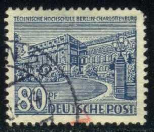 Germany-Berlin #9N55 College; Used (0.75)