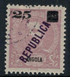 Angola #117 CV $5.50