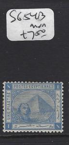 EGYPT (P0908B)   SPHYNX  1 PI   SG54B   MOG