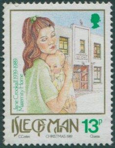 Isle Of Man 1989 SG429 13p Christmas MNH