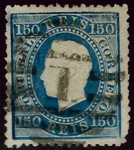 Portugal SC#47 Used F-VF rounded corner SCV$110.00...Worth a close look!!