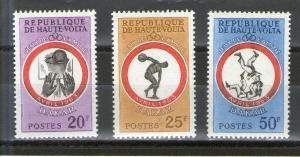 Burkina Faso 108-110 MNH