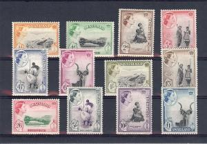 Swaziland, 55-66, Various Designs Singles, **MNH**