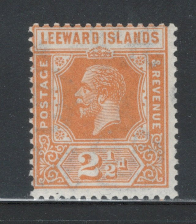 Leeward Islands 1923 King George V 2 1/2p Scott # 69 MH