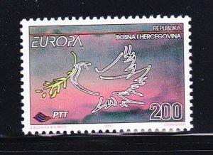 Bosnia & Herzegovina - Bosniak Government  221 Set MNH Europa