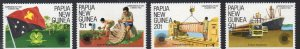 Papua New Guinea MNH 580-3 Commonwealth Day 1983