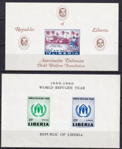 Liberia #C113, C124a   MNH CV $4.90 (A19170L)