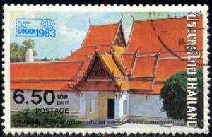 Buddhist Temple in Bangkok, Thailand SC#1000 used