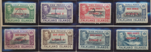 Falkland Islands (South Orkneys) Stamps Scott #4L1 To 4L8, Mint - Free U.S. S...
