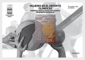 Stamps Spain 2021- Women In Sports - Olympic - First Medalists For Spanish Women