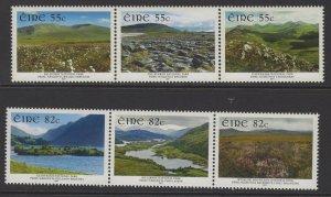 IRELAND SG2063/8 2011 IRELAND NATIONAL PARKS MNH