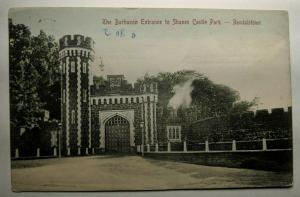 Vintage Clare to Dublin Shanes Castle Park Real Picture Postcard Cover