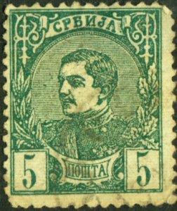 Serbia #27b Used